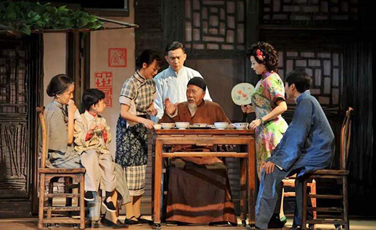 话剧《四世同堂》将于10月18日至19日亮相山西大剧院