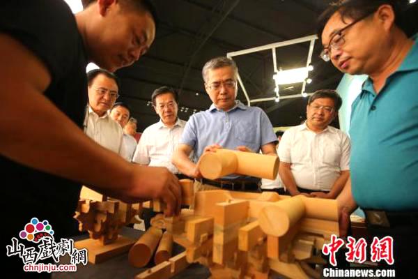 山西忻州文化遗产精品亮相恭王府博物馆展示一个月