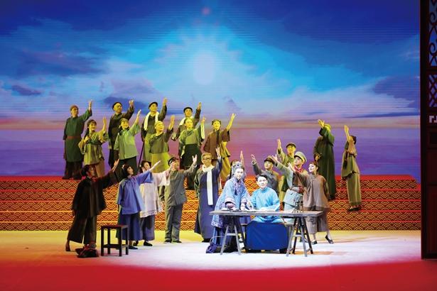 盎然春意中的中国戏曲