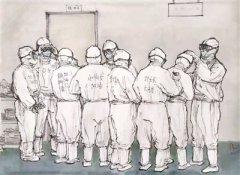 那些永恒的瞬间 ——画家笔下的前线医疗队