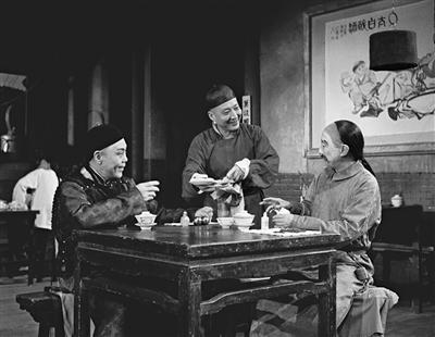 《茶馆》中的王利发是于是之最经典的角色之一。